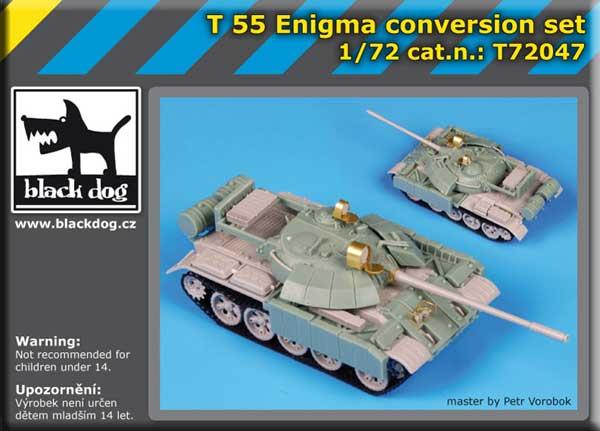 Black Dog T72047 1//72 T 55 Enigma Conversion Set